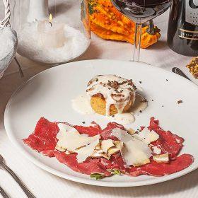menu-antipasto-carpaccio-chianina-tortino-porcini-tartufo